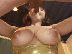 巨乳娘のフェラチオ