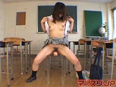 教室でオナニー
