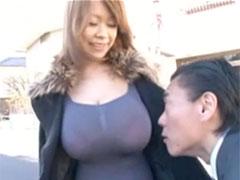 超乳のギャル
